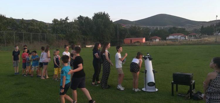 Με επιτυχία διοργανώθηκε η βραδιά αστρονομίας στην Εκκάρα