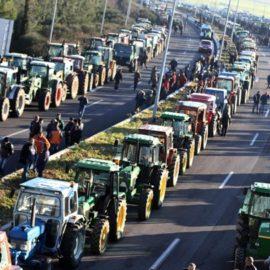Συλλαλητήριο αγροτών στην Λάρισα